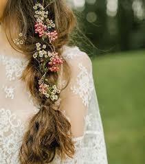 coiffure mariage boheme photo coiffure mariage une tresse bohème pour cheveux longs