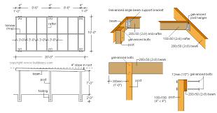 carport design plans flat roof carport plans how to build a basic free standing carport