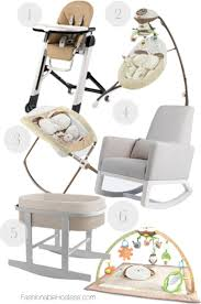 baby necessities nursery decor for the modern home fashionable hostess