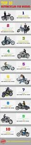 5 types of women that ride motorcycles infographic infographic