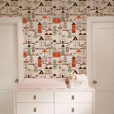 birdhouse orange peel u0026 stick fabric wallpaper repositionable