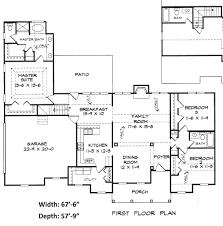 residential blueprints belleville house plans residential floor plans elegant house plans