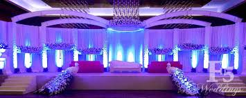 grand wedding stage decoration 11569