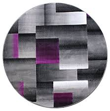 Purple And Black Area Rugs Masada Rugs Modern Contemporary Area Rug