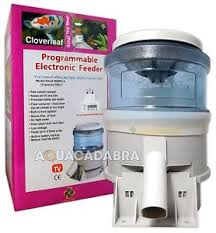 CLOVERLEAF AUTO FEEDER 5LB ELECTRONIC AUTOMATIC KOI FISH FOOD
