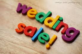 wedding sale help reselling your wedding decor the budget savvy
