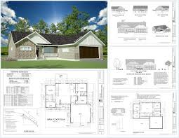 h233 1367 sq ft custom spec house plans in both pdf and dwg file
