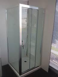 3 Panel Shower Doors Bathroom Sliding Shower Doors Modern Glass Shower Doors