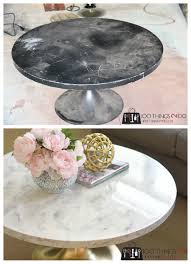 faux marble coffee table diy faux marble coffee table 100 things 2 do