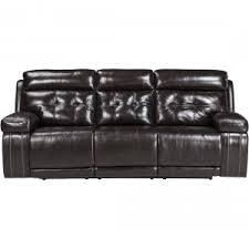 Ashley Furniture Power Reclining Sofa Reviews Ashley Furniture Krismen Power Reclining Sofa With Adjustable