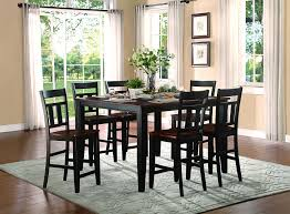 two tone dining room sets homelegance westport extendable dining table with 18