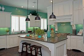 Green Tile Kitchen Backsplash Green Tile Kitchen Design Zach Hooper Photo