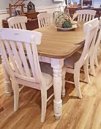 table cuisine blanche table cuisine crème blanc cassé bois shabby rustique chic