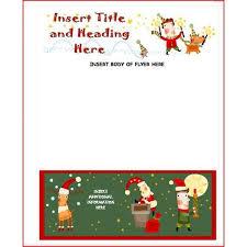 free microsoft christmas flyer templates business template u0027s