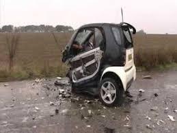 smart car crash test youtube