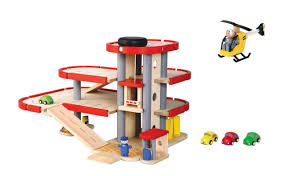 Denwood Woodworking Machinery Used by Plan Toys Parking Garage 6227 Addie