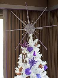 how to make a starburst tree topper hgtv