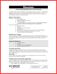 easy to read resume format format of job resume good resume format