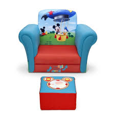 Mickey Mouse Kids Table And Chairs Delta Children Mickey Mouse Upholstered Kids Club Chair And