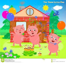 pigs 12 happy stock vector image 69026456