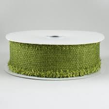 moss ribbon 1 5 chenille edge ribbon moss green 10 yards rg0159852