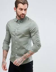 men u0027s shirts long sleeve u0026 going out shirts for men asos