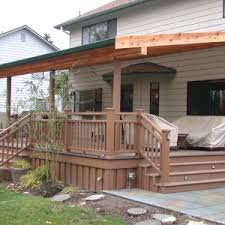 Deck With Patio by Decor U0026 Tips Backyard Design And Concrete Patios With Patio