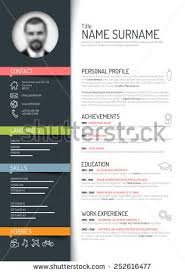 Free Colorful Resume Templates Resume Stock Images Royalty Free Images U0026 Vectors Shutterstock