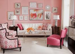 Classy And Cheerful Pink Living Rooms - Pink living room design