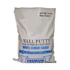 wall putty white cement based wall putty for finish surface at scs