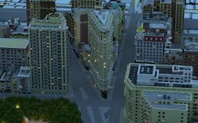Midtown Manhattan Map Manhattan In Minecraft Midtown Manhattan Download Minecraft Project