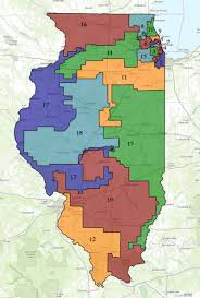chicago gerrymandering map illinois congressional districts