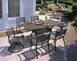 Cast Aluminum Patio Chair Aluminum Garden Furniture How To Paint Cast Aluminum Patio