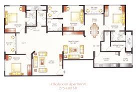 4 bedroom apartment simple home design ideas academiaeb com