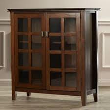 Wayfair Storage Cabinet Simpli Home Acadian Accent Storage Cabinet U0026 Reviews Wayfair