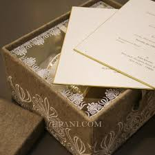 wedding invitations in a box indian wedding invitations upani design studio