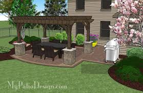415 sq ft simple outdoor living design with pergola 415 sq ft download