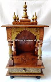 pooja cabinet usa simple south indian wooden home temple pooja