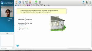 Paint The House Algebra Problem House Painting Youtube