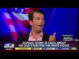 donald trump youtube channel judge jeanine pirro donald trump jr talks about his dad s run for