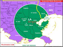 orleans map truck ads orleans designated market map a d m a p