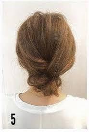 Hochsteckfrisuren Mittellange Haar Einfach by Hochsteckfrisur Für Mittellanges Haar Frisuren Machen