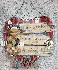 shabby chic wall art gdt project for sacrafters youtube