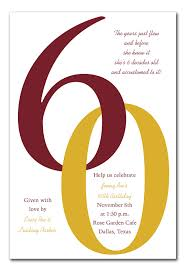 60th birthday invitation template for word tags specially made