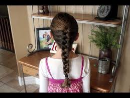 Cute Girl Hairstyles How To French Braid | how to french braid 2 braided hairstyles cute girls hairstyles
