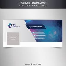editable timeline cover template vector free download