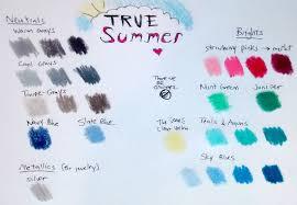 frugal bagel profiles in color palettes true summer