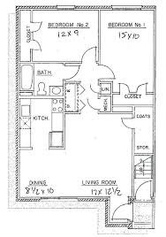 two apartment floor plans 2 bedroom apartments plans floor plan 2 bedroom apartment holabot co