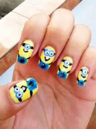 minion nails art design 7 cartoon nail designs woman fashion