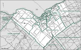 Map Of Ottawa Final Report U2013 Ontario Redistribution Federal Electoral Districts